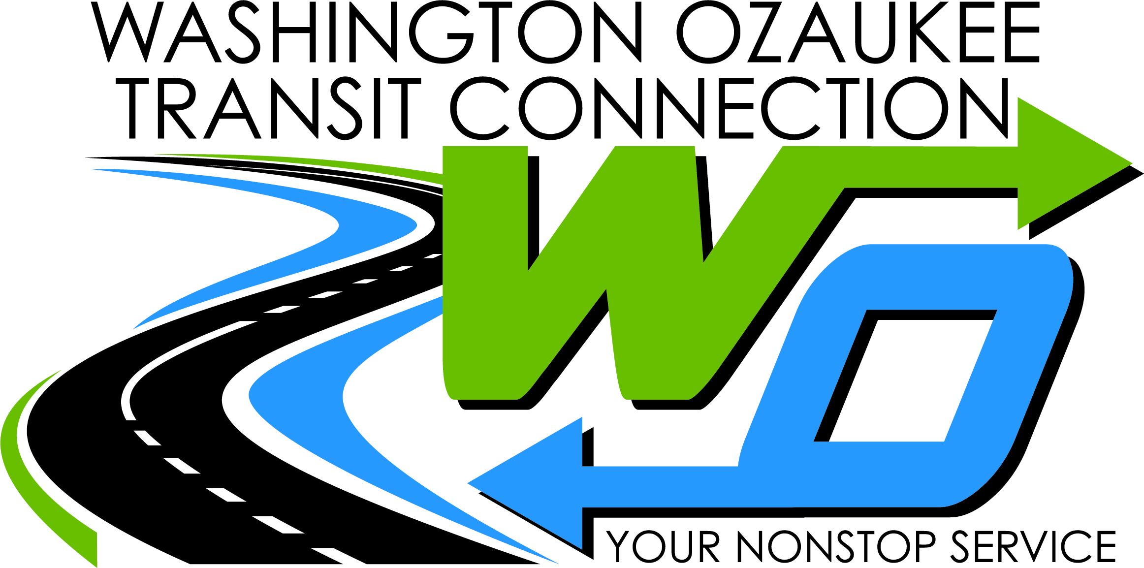 Washington Ozaukee Transit Connection Logo